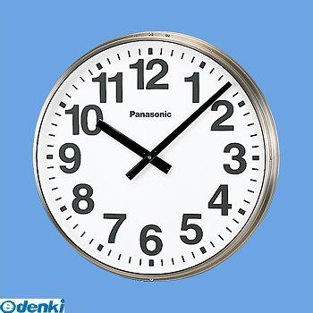 本店は Panasonic パナソニック TCS1107 700屋外子時計壁掛型ステンレス:測定器・工具のイーデンキ-その他