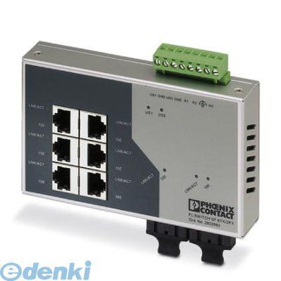 フェニックスコンタクト FLSWITCHSF6TX/2FX Industrial Ethernet Switch - FL SWITCH SF 6TX/2FX - 2832933 FLSWITCHSF6TX2FX