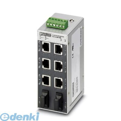 フェニックスコンタクト FLSWITCHSFN6GT/2SX Industrial Ethernet Switch - FL SWITCH SFN 6GT/2SX - 2891398 FLSWITCHSFN6GT2SX