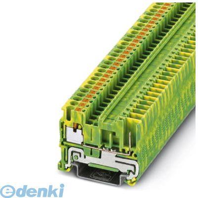 フェニックスコンタクト Phoenix Contact PT2.5/1P-PE アース端子台 - PT 2,5/1P-PE - 3210059 50入 PT2.51PPE