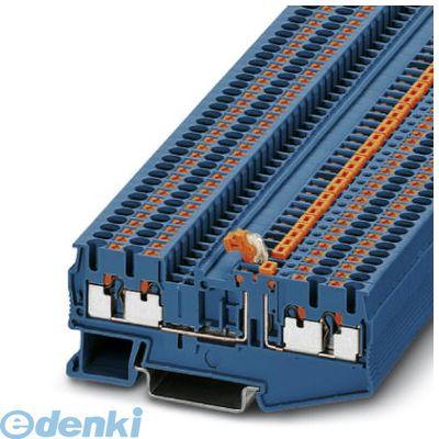 フェニックスコンタクト(Phoenix Contact) [PT2.5-QUATTRO-MTBU] 断路ナイフ端子台 - PT 2,5-QUATTRO-MT BU - 3211676 (50入) PT2.5QUATTROMTBU