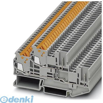 フェニックスコンタクト Phoenix Contact QTTCB1.5/2P 2段端子台 - QTTCB 1,5/ 2P - 3050196 50入 QTTCB1.52P