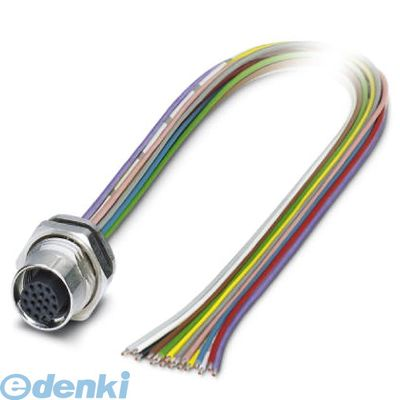 フェニックスコンタクト SACC-DSI-FS-17CON-PG9/0.5SCO 筐体取付コネクタ - SACC-DSI-FS-17CON-PG9/0,5 SCO - 1430462 SACCDSIFS17CONPG90.5SCO