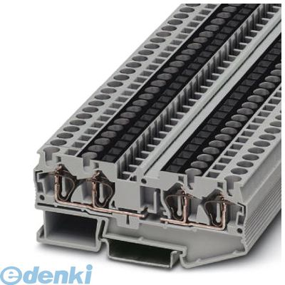 フェニックスコンタクト(Phoenix Contact) [ST4-QUATTRO-U] 接続式端子台 - ST 4-QUATTRO-U - 3038639 (50入) ST4QUATTROU