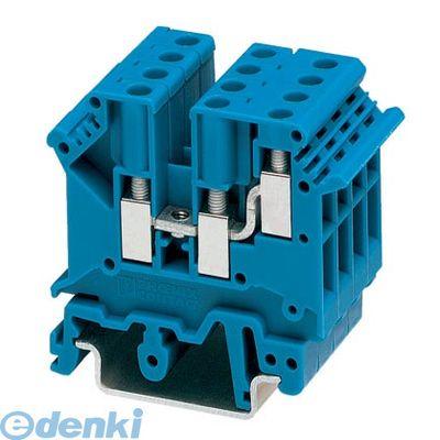 フェニックスコンタクト Phoenix Contact UK5-TWINBU 接続式端子台 - UK 5-TWIN BU - 1923047 50入 UK5TWINBU