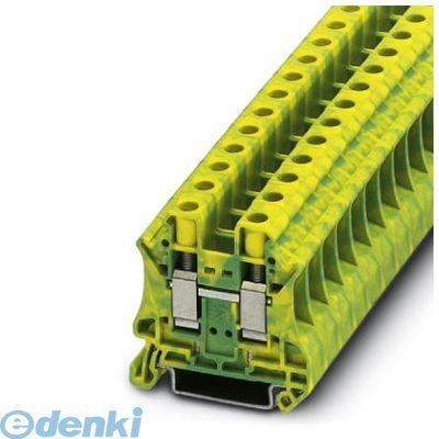 フェニックスコンタクト(Phoenix Contact) [UT10-PE] アース端子台 - UT 10-PE - 3044173 (50入) UT10PE