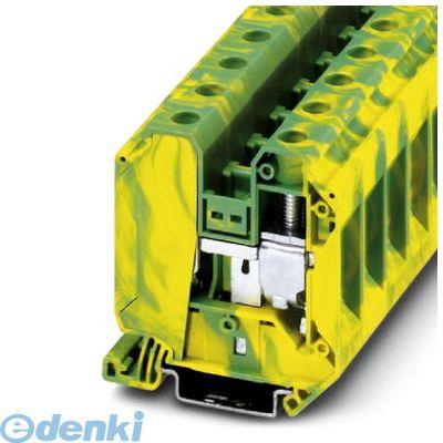 フェニックスコンタクト Phoenix Contact UT35-PE アース端子台 - UT 35-PE - 3044241 50入 UT35PE