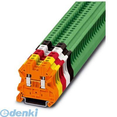 フェニックスコンタクト Phoenix Contact UT4GN 接続式端子台 - UT 4 GN - 3045156 50入