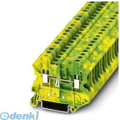 フェニックスコンタクト Phoenix Contact UT4-MTD-PE アース端子台 - UT 4-MTD-PE - 3046223 50入 UT4MTDPE