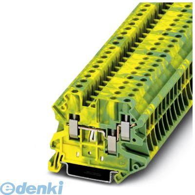フェニックスコンタクト Phoenix Contact UT4-TWIN-PE アース端子台 - UT 4-TWIN-PE - 3044380 50入 UT4TWINPE