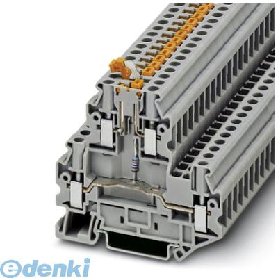 フェニックスコンタクト UTTB4-MTP/PLA24RD/O-U 断路ナイフ端子台 - UTTB 4-MT P/P LA 24 RD/O-U - 3046773 50入 UTTB4MTPPLA24RDOU