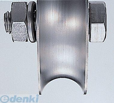 ヨコヅナ [JCP-1001] 440Cベアリング入ステンレス重量戸車 車のみ100mm 溝R車型 JCP1001