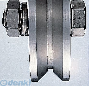 ヨコヅナ [JCP-2005] 440Cベアリング入ステンレス重量戸車 車のみ200mm V型 JCP2005