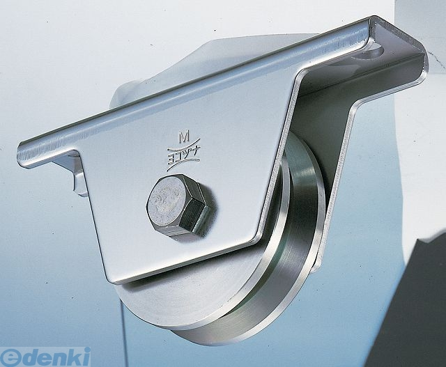 ヨコヅナ JCS-0505 440Cベアリング入ステンレス重量戸車50mm V型 2個入 JCS0505