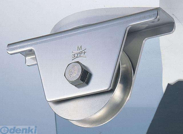 ヨコヅナ JCS-0751 440Cベアリング入ステンレス重量戸車75mm 溝R車型 2個入 JCS0751
