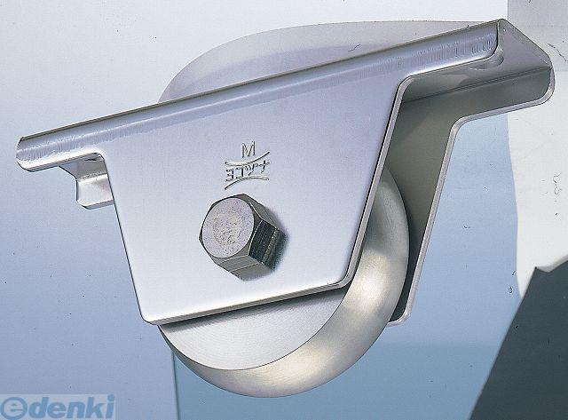 ヨコヅナ JCS-0908 440Cベアリング入ステンレス重量戸車90mm 山R車型 2個入 JCS0908