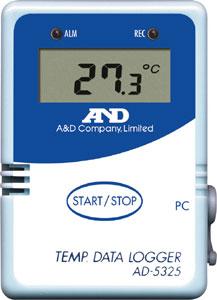 【納期:約2週間】A&D AD-5325SET 温度データー・ロガー AD5325SET