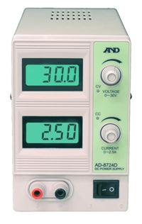 A&D AD-8724D 直流安定化電源 AD8724D