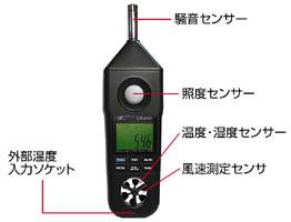 【ポイント最大29倍 2月25日限定 要エントリー】マルチ計測器 MULTI CN5030 マルチ環境測定器 LM8102 CN-5030
