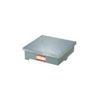 ユニセイキ UKJ2-5050 直送 代引不可・他メーカー同梱不可 精密検査用定盤 JIS型 2級 500x500mm