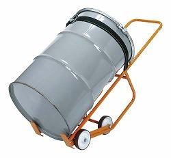 【個人宅配送不可】サカエ SAKAE DR-6M 直送 代引不可・他メーカー同梱不可 車上渡し ドラム缶運搬車 DR6M