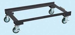 【個数:1個】サカエ(SAKAE) [E-80CDD] 「直送」【代引不可・他メーカー同梱不可】「車上渡し」 ミニ工具室 オプション キャスターベース E80CDD