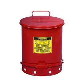 [2-1063-03] 耐火ゴミ箱 J09500 2106303