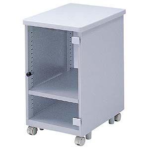 【受注生産品 納期-約1ヶ月】サンワサプライ [EA-CPU5] CPUボックス(省スペースCPU用・扉付き) EACPU5