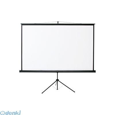 【個数:1個】サンワサプライ [PRS-S105] プロジェクタースクリーン(三脚式) PRSS105