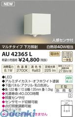 コイズミ照明 AU42365L LED防雨ブラケット【送料無料】