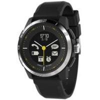 CONNECTEDEVICE 4562187616338 Bluetooth SMART対応アナログ腕時計 COOKOO2 ブラック【送料無料】