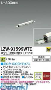 大光電機 DAIKO LZW-91599WTE LEDシステムライト LZW91599WTE【送料無料】