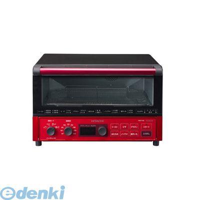 日立 HMO-F100-R コンベクションオーブントースター メタリックレッド HMOF100R