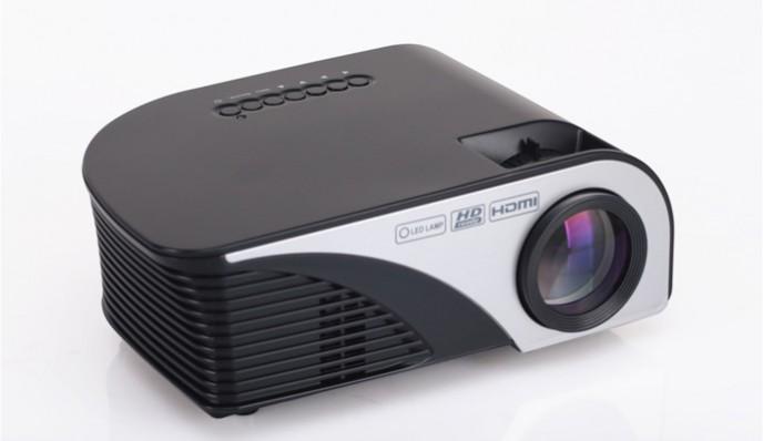 RAMASU [RA-P1200] LEDプロジェクター 投影サイズ:30~120インチ RAP1200【送料無料】