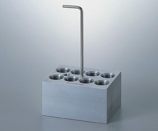 1-1189-03 アルミブロック No.3 φ15mm 1118903