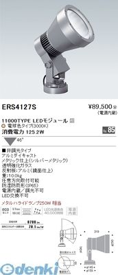 遠藤照明 [ERS4127S] 屋外スポット/11000タイプ 広角 3000K Ra85【送料無料】