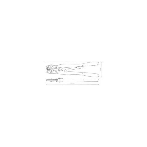 【納期-約3ヶ月】AMP 409777-1 手動工具 4097771