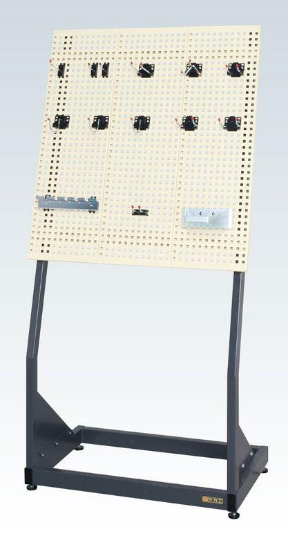 サカエ[PKS-820PI] 「直送」【代引不可・他メーカー同梱不可】 パンチング傾斜スタンドPKS820PI【送料無料】