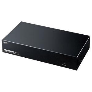 サンワサプライ [VGA-EXAVL2] AVエクステンダー(送信機・2分配) VGAEXAVL2
