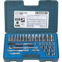 【あす楽対応】シグネット 工具(SIGNET) [12733] 3/8DR 33PC mm ソケットレンチセット 12733