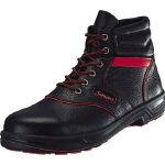 シモン(Simon) [SL22R-24.5] シモン 安全靴 編上靴 SL22-R黒/赤 24.5 SL22R24.5