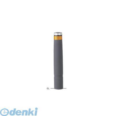 【個人宅配送不可】帝金 Teikin LEPG-03A-R GY -B 直送 代引不可・他メーカー同梱不可 再生ゴムチップ 再帰反射バリカー グレー ソーラーLED 反射型車止めバリカー LEPG03ARGYB