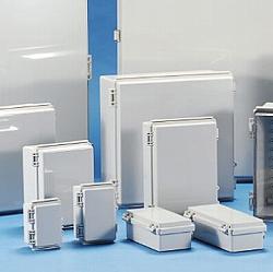 タカチ電機工業 [BCAP608028G] 「直送」【代引不可・他メーカー同梱不可】BCAP型防水・防塵開閉式プラボックス BCAP-608028G