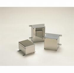 タカチ電機工業 KLB081006 直送 代引不可・他メーカー同梱不可 KLB型外部取付足付小型防水・防塵ステンレスボックス KLB-081006