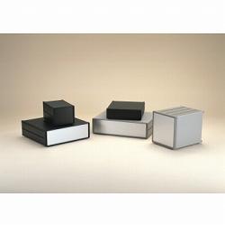 タカチ電機工業 [MO66-43-45B] 「直送」【代引不可・他メーカー同梱不可】MO型オールアルミシステムケース MO664345B
