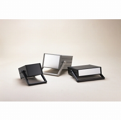 タカチ電機工業 MON149-43-35BS 直送 代引不可・他メーカー同梱不可 MON型ステップハンドル付システムケース MON1494335BS
