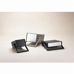 タカチ電機工業 MON177-37-35BS 直送 代引不可・他メーカー同梱不可 MON型ステップハンドル付システムケース MON1773735BS