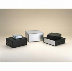 タカチ電機工業 MS222-43-35B 直送 代引不可・他メーカー同梱不可 MS型メタルシステムケース MS2224335B