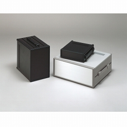 タカチ電機工業 MSY66-43-35BS 直送 代引不可・他メーカー同梱不可 MSY型バンド取手付システムケース MSY664335BS