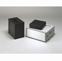 タカチ電機工業 MSY222-21-28G 直送 代引不可・他メーカー同梱不可 MSY型バンド取手付システムケース MSY2222128G